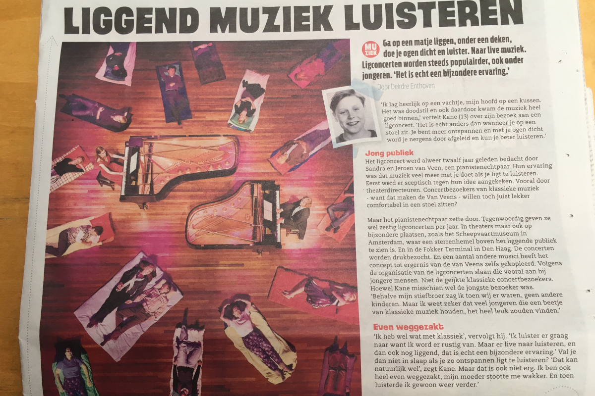 Interview van Deirdre Enthoven voor 7Days.