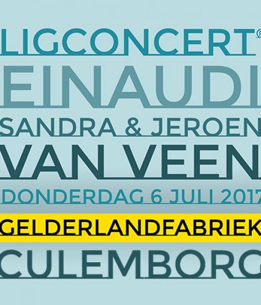 The Best of Einaudi – ligconcert® Sandra en Jeroen van Veendo. 6 juli 2017 20.30uDe Gelderlandfabriek