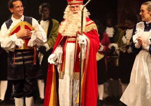 Sinterklaas en de Malle Mijter (foto Niels Rombouts)