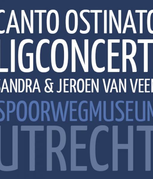 Ligconcert Canto Ostinato  Spoorwegmuseum Utrecht  zat. 17 juni '17, 20.30u