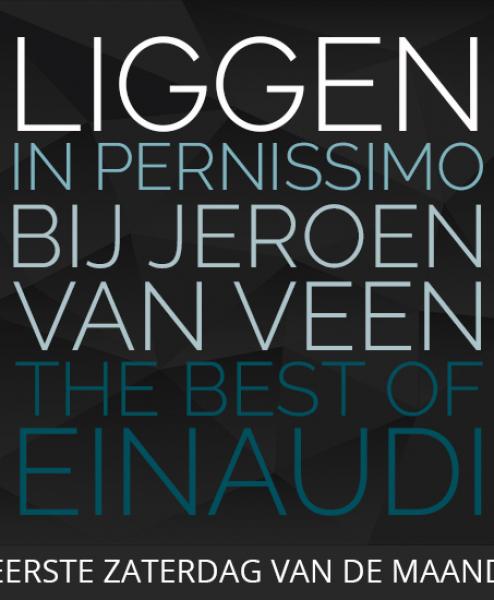 Jeroen van Veen speelt Einaudi serie van vijf ligconcerten