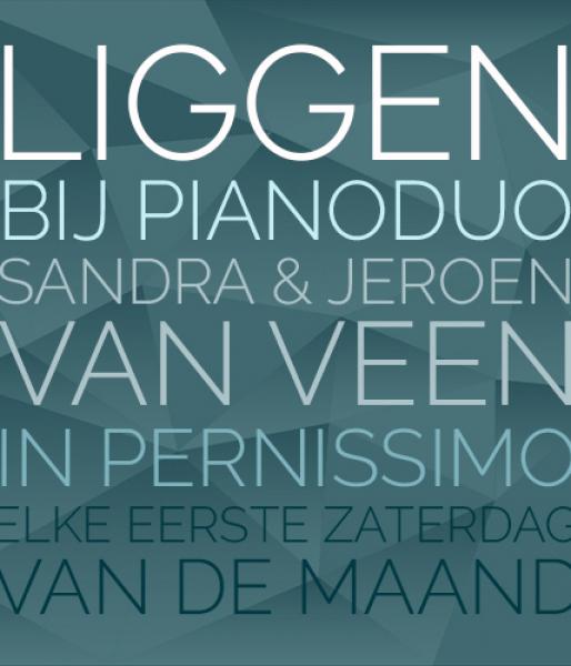 Liggen bij Pianoduo Sandra & Jeroen  in Pernissimo  zaterdagavond om 20.00u