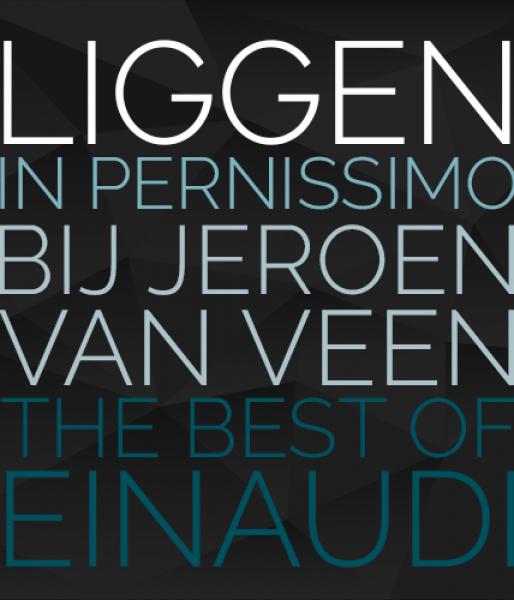 Jeroen van Veen speelt Einaudi  alle werken in vijf ligconcerten  Pernissimo