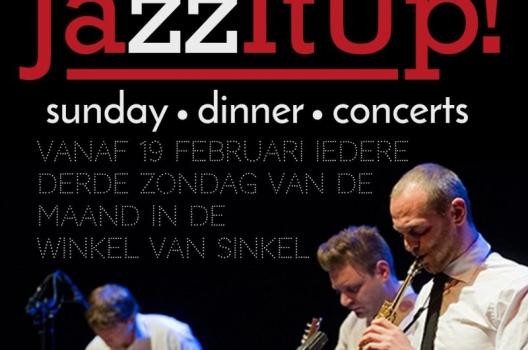 JazzItUp! in de Winkel van Sinkel