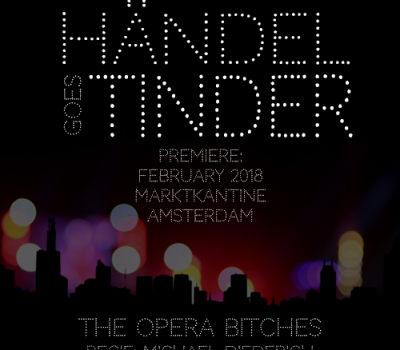 Persbericht Händel goes Tinder – over het turbulente liefdesleven van Dorinda