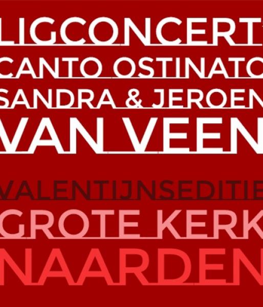 Valentijn's Canto Ostinato – ligplaats  zat. 10 febr. '18  aanvang 20.30 uur
