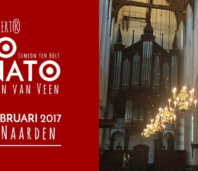 Valentijn's Canto Ostinato – ligplaats  zat. 11 febr. '17  aanvang 20.30 uur