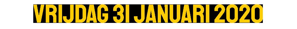 vrijdag-31-januari-2020